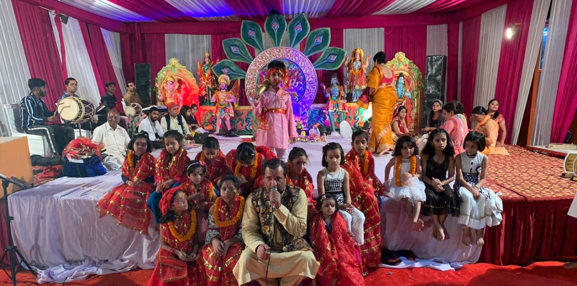 Gurugram comes alive to Navratri celebration