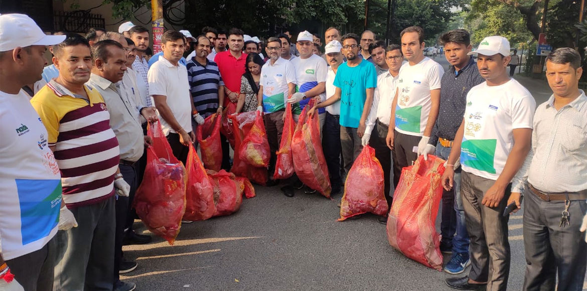 Noida Authority carries out cleanliness drive in four residential sectors