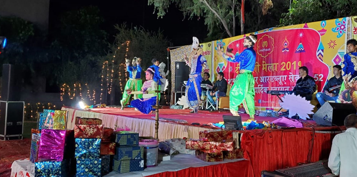 Diwali Mela at Sector 52 heralds the festival of light