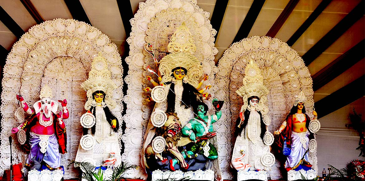 Get ready for Durga puja pandal-hopping at famous spots in Noida, Ghaziabad