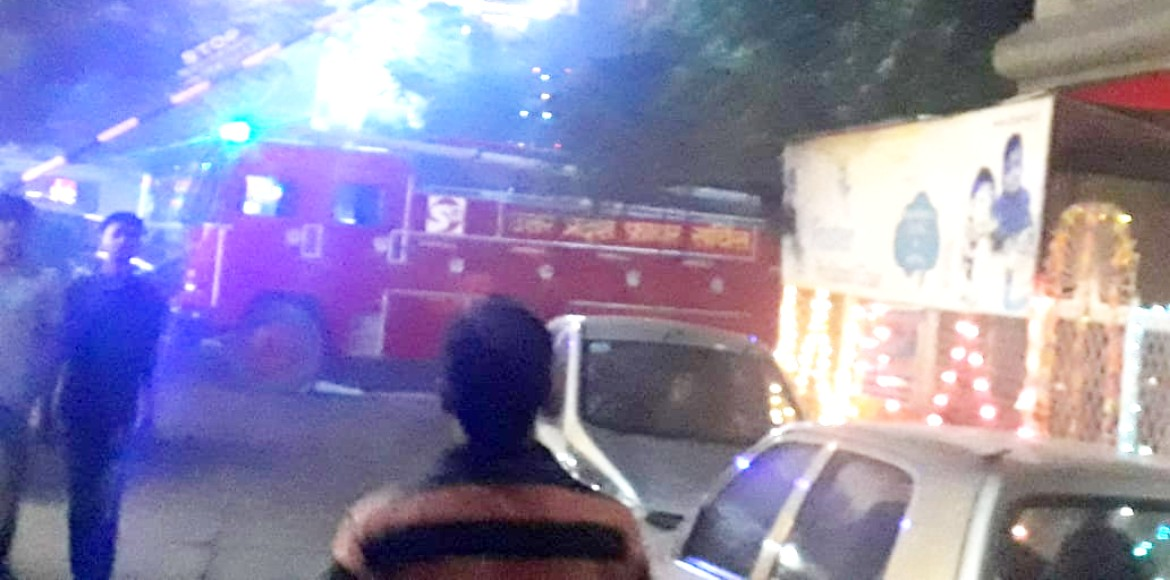 A fire tragedy averted in Shipra Suncity, thanks to vigilant residents