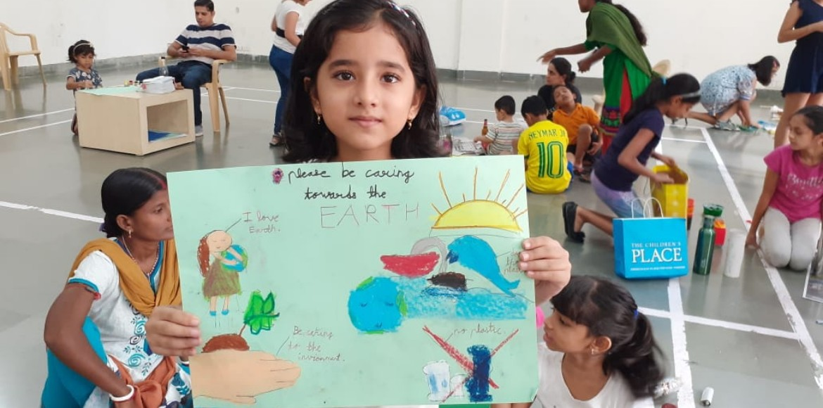 Gurugram: Fresco children learn lessons in waste m