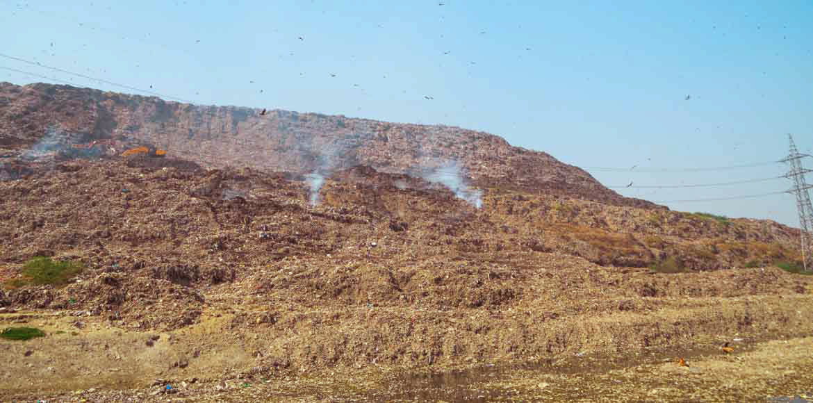 EDMC project to segregate Ghazipur landfill garbage gets underway