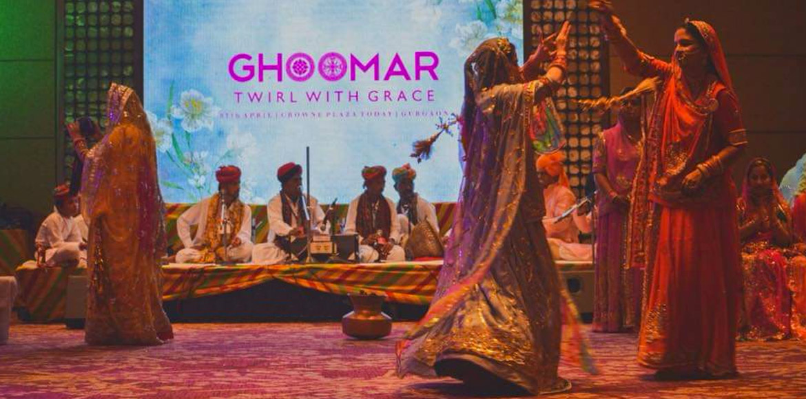 Love Ghoomar? Join hundred others on 3rd Nov in Gurugram