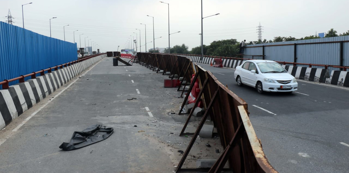 Honda Flyover carriageway closed for a month for repair