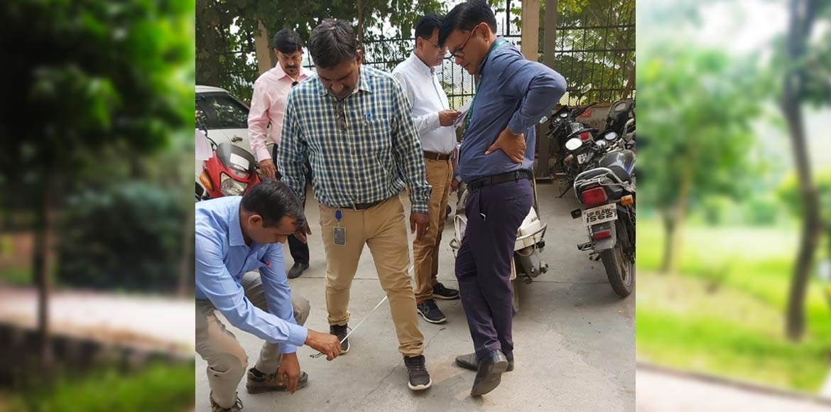 Horticulture raid on Gaur City 6th Avenue
