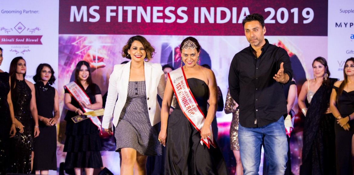 Gurugram woman first runner up at Miss Fitness Ind