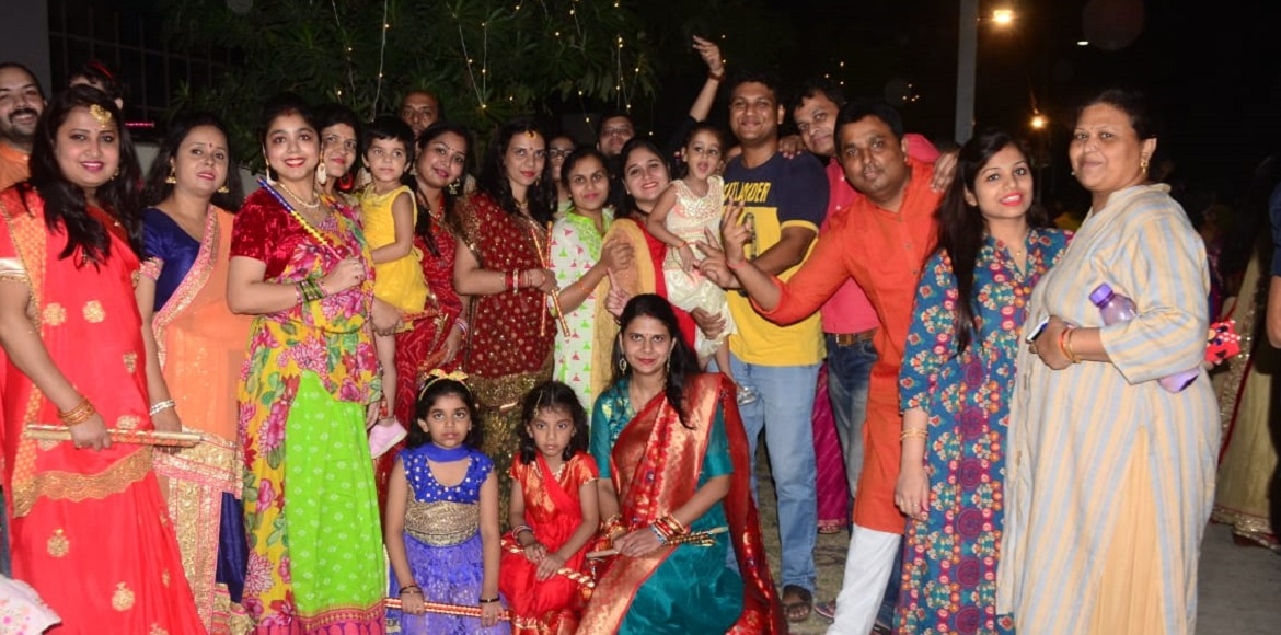 Cherry County celebrates Maha Navami with dandiya night