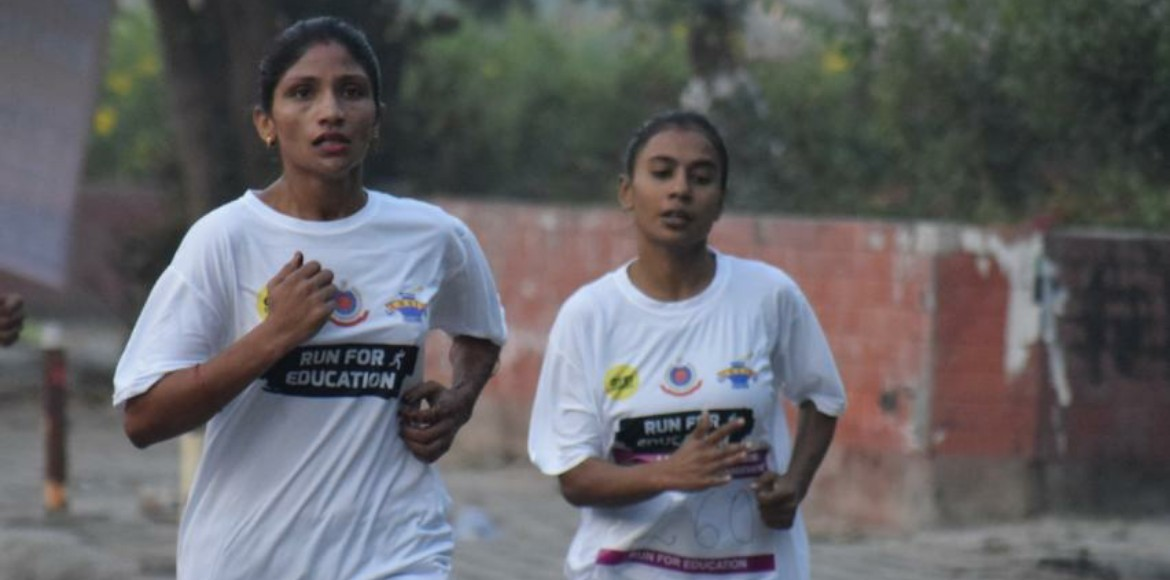 A run for the cause of children deprived of education