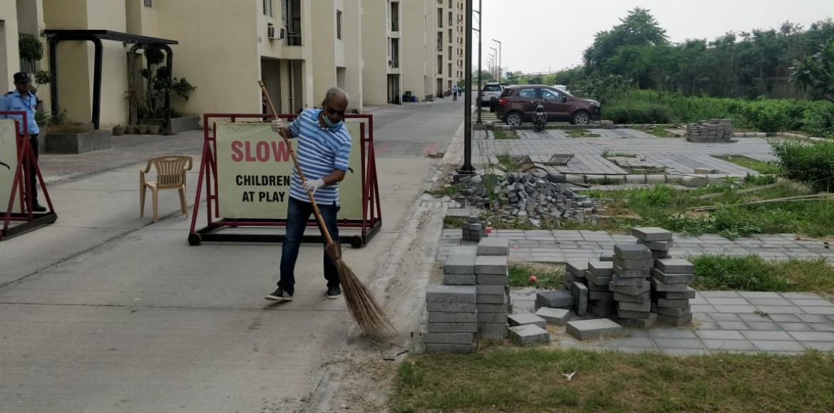 Gurugram: Sare Homes carries out cleanliness drive