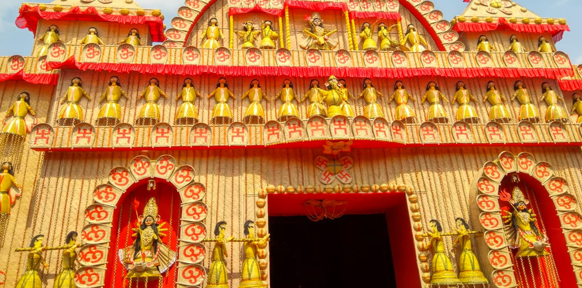 Brace for the delight of eco-friendly Durga Puja at Dwarka