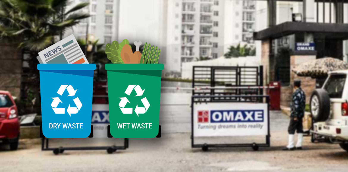 Alag Karo – a waste segregation campaign at Grand Omaxe