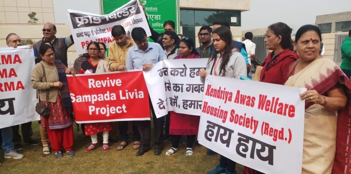 GreNo: UP RERA deregisters stalled project Sampada Livia, homebuyers vindicated
