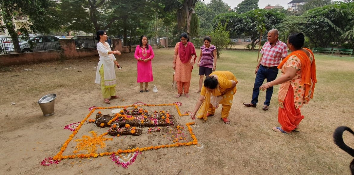 Mayfield Garden residents celebrate Govardhan Puja with gaiety