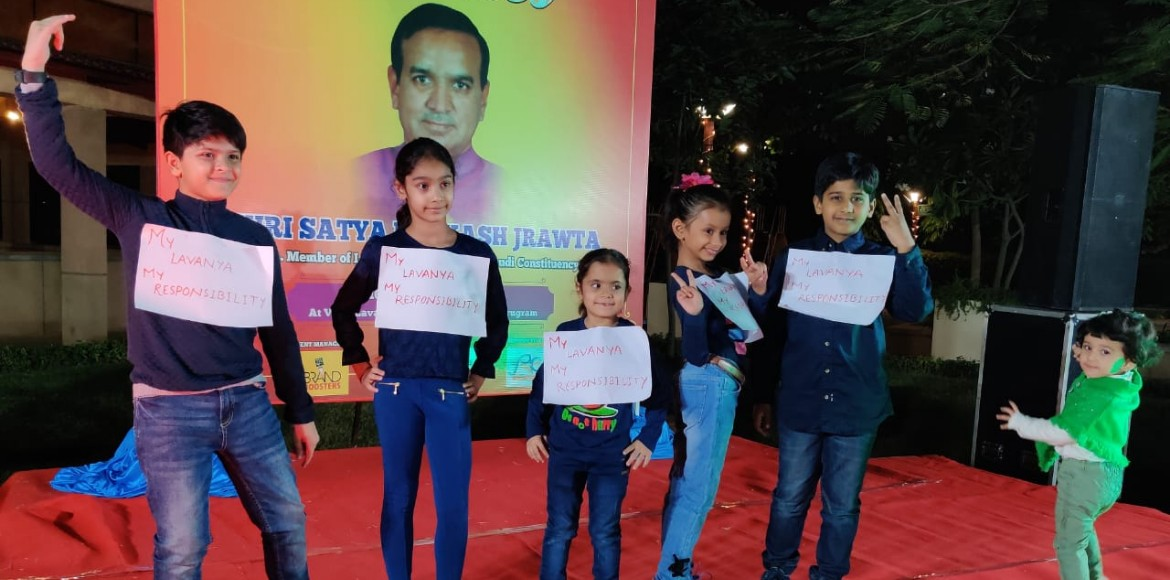 Gurugram: Vipul Lavanya welcomes winter with a carnival