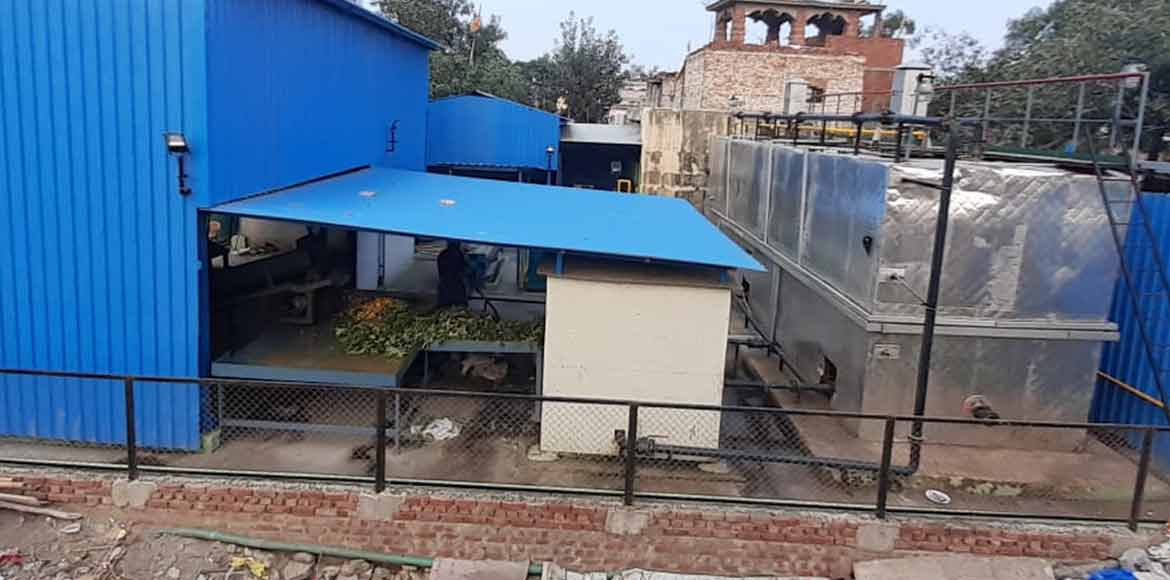 EDMC starts operation of biogas plant in Geeta Col