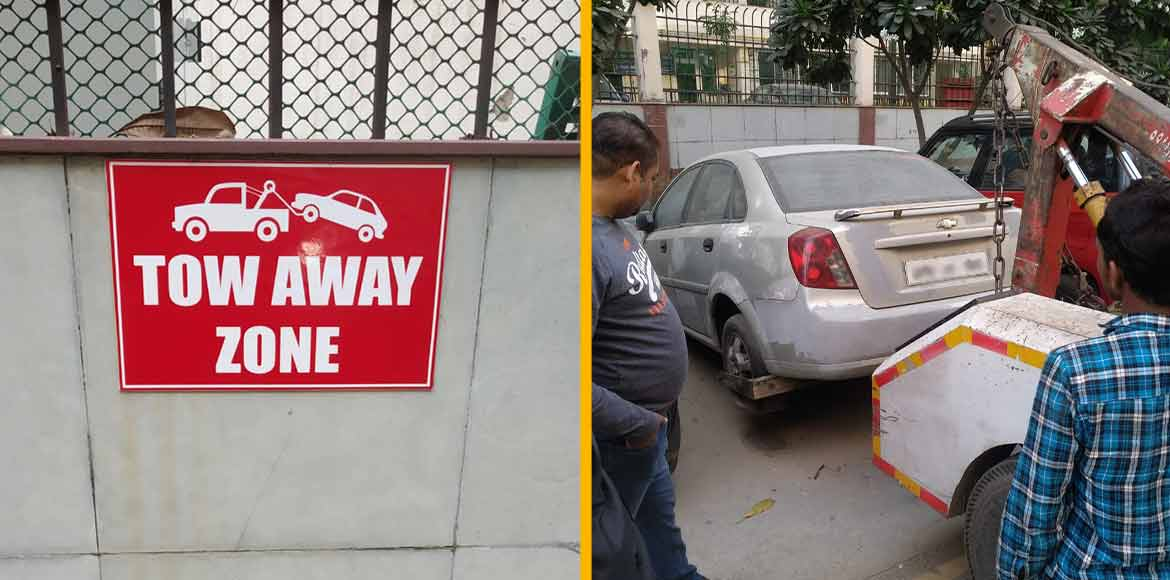 GreNo West: Cars handed over to police for not complying parking sticker rule