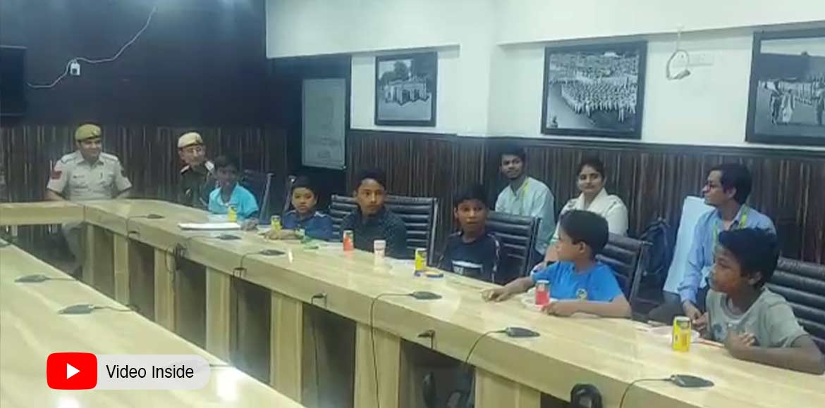 Dwarka police holds interactive session with orphanage children