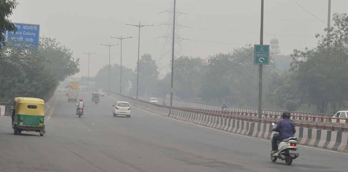 Delhi gasps with PM 10-PM2.5 unrelenting at 504, 332