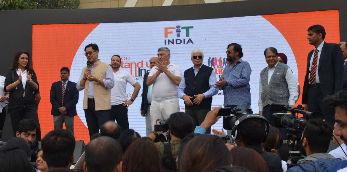 Stand Up India: VLCC Anti-Obesity campaign concluded with walkathon
