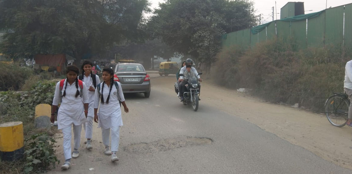 Dust menace exacerbates air pollution in Dwarka
