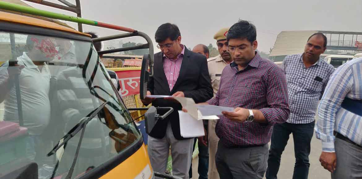 Gurugram: Campaign against diesel autos started by district admin