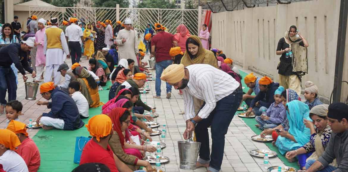 PHOTO KATHA: Gaur Sportswood celebrates 550th Birthday of Guru Nanak Dev
