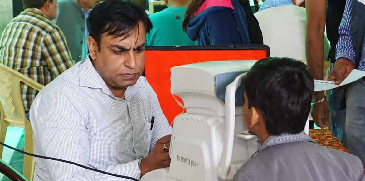 Gurugram: Mission Learning Foundation organises free medical camp for residents