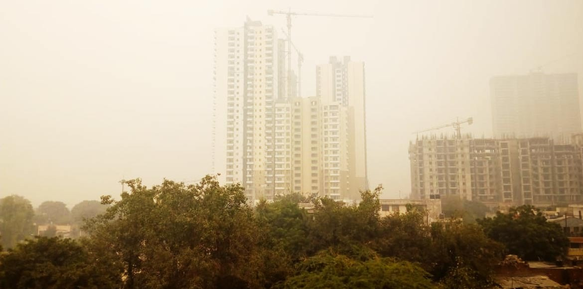 Pollution push to health in Noida