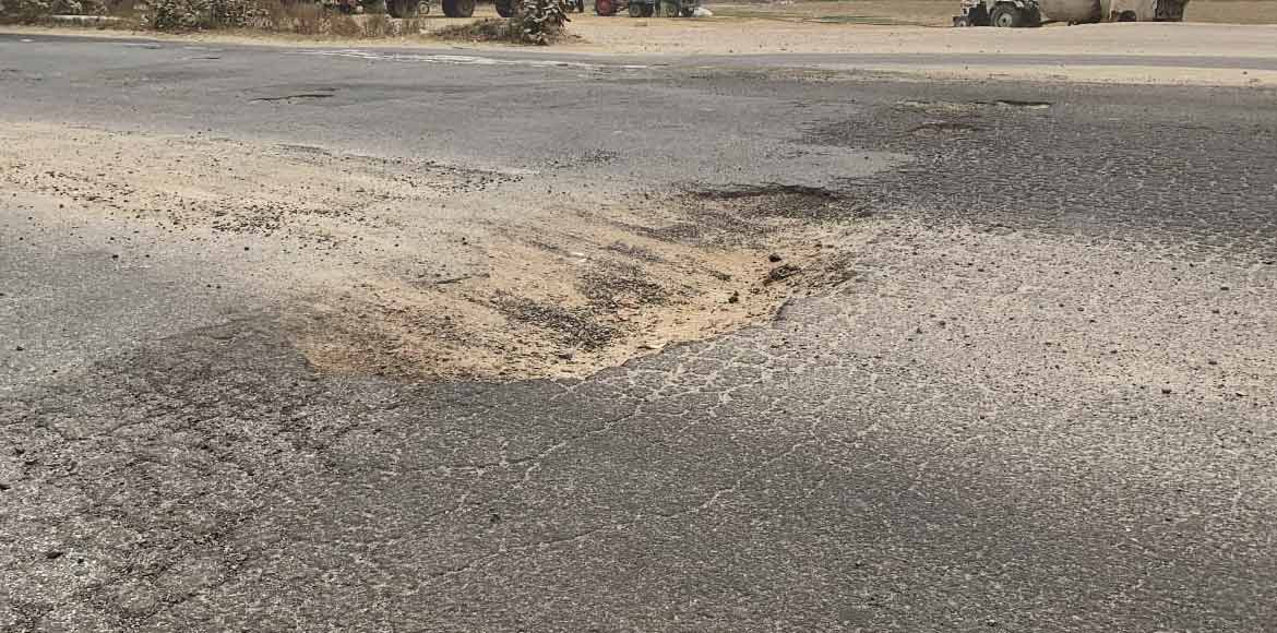 Potholes: The death traps along New Gurugram roads
