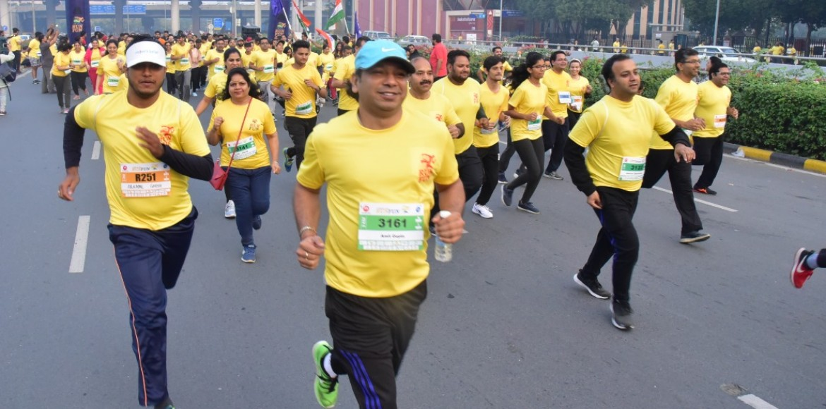 Fitness freaks spend great time at RunFun marathon