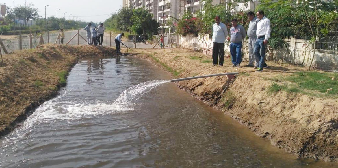 Gurugram: Sare Homes creates artificial ponds to recharge groundwater