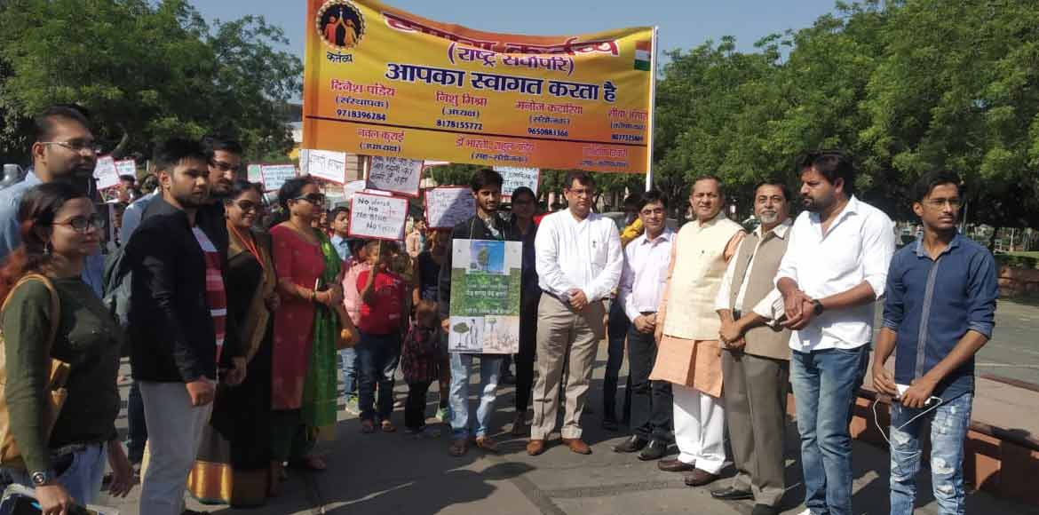 Noida: NGO takes out rally against rising air pollution