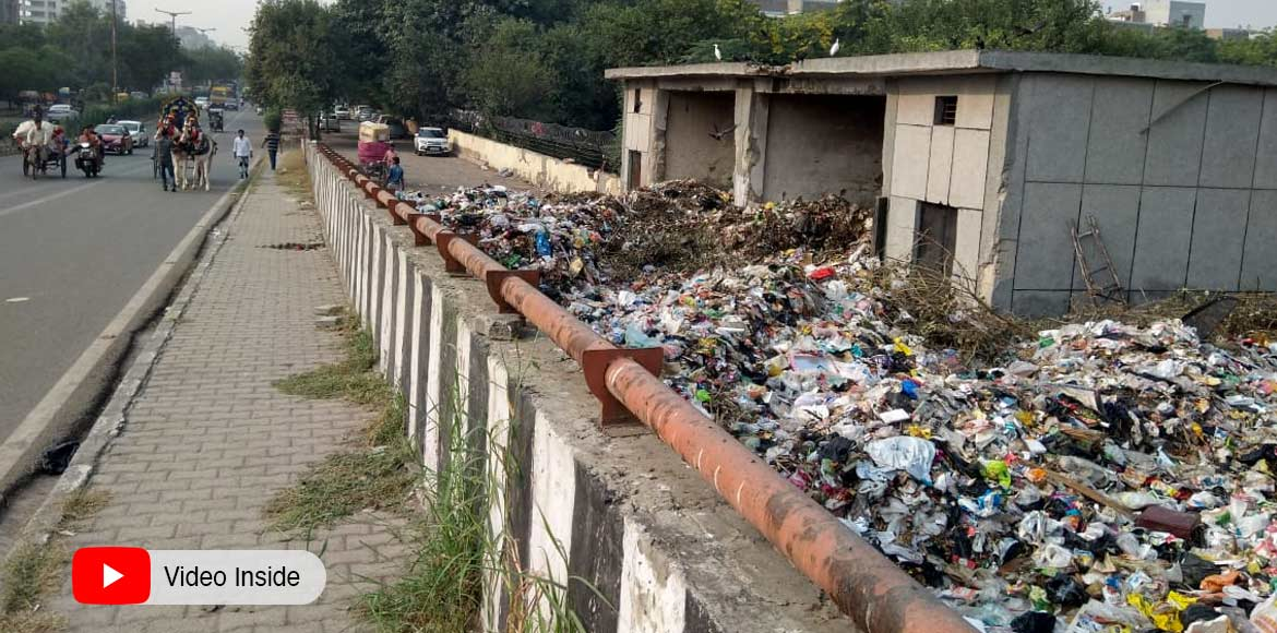 A tell-tale proof of civic negligence in Dwarka
