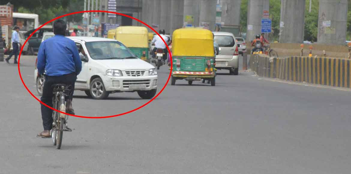 Beware! Traffic violations can be photographed and shared on social media