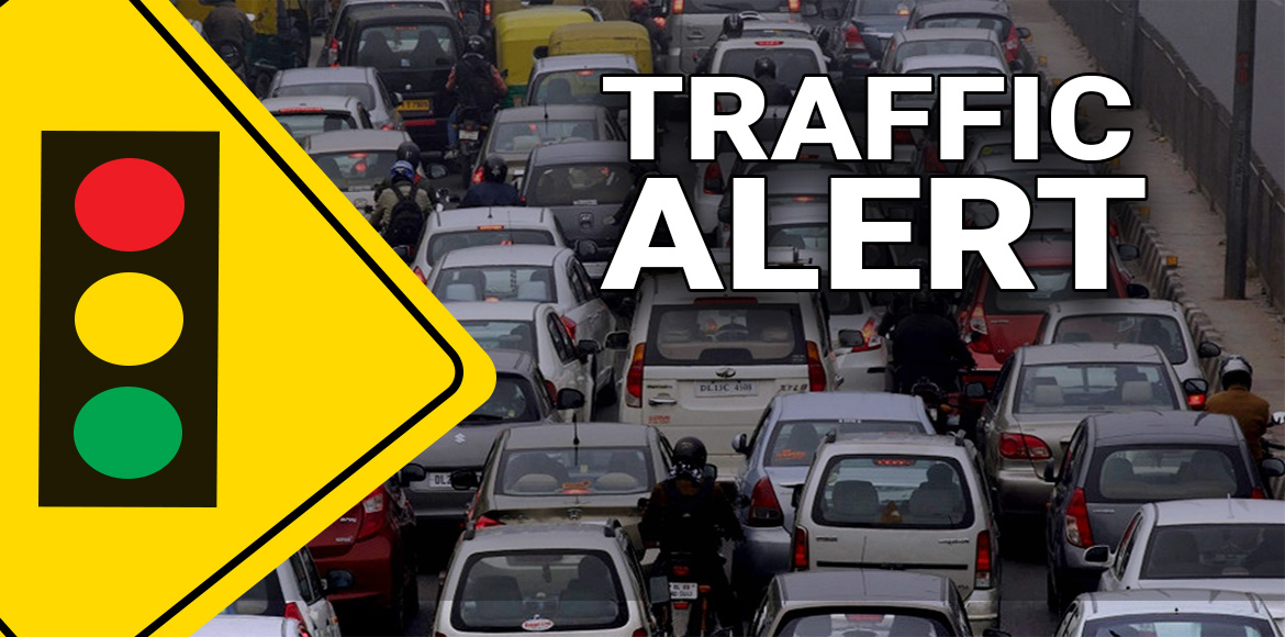 Ghaziabad traffic police advisory over Chhath at Hindon Ghat