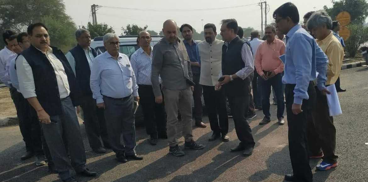 DDA officers inspect projects as pollution measure in Dwarka