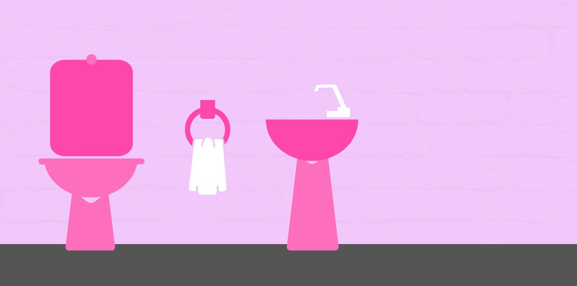 Another pink toilet opened for women in Noida