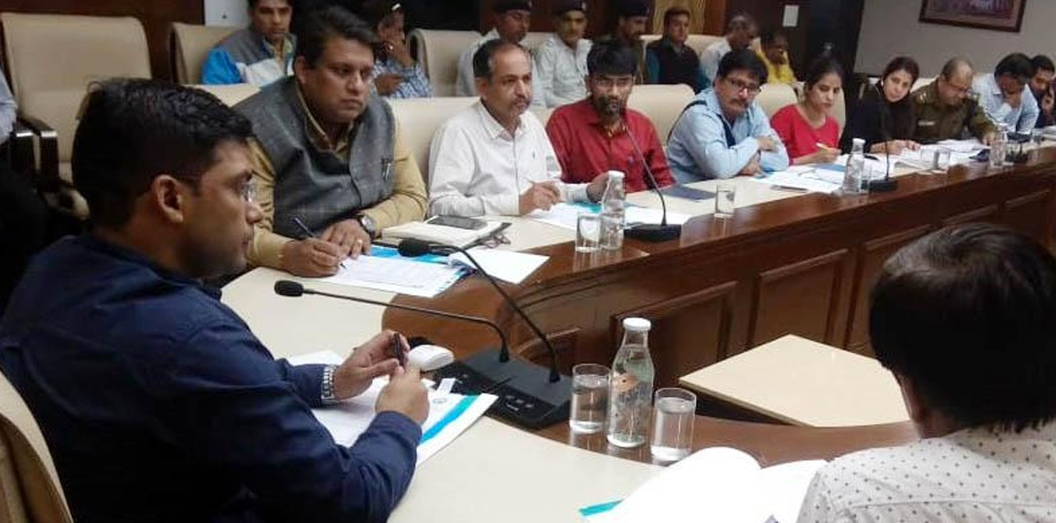 Review meeting on 25 points agenda held in Gurugram to enhance road safety