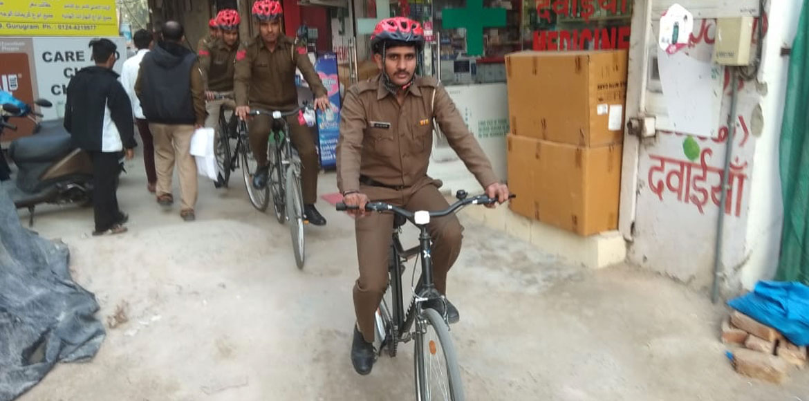 Gurugram police to patrol on bicycles in narrow lanes, crowded areas