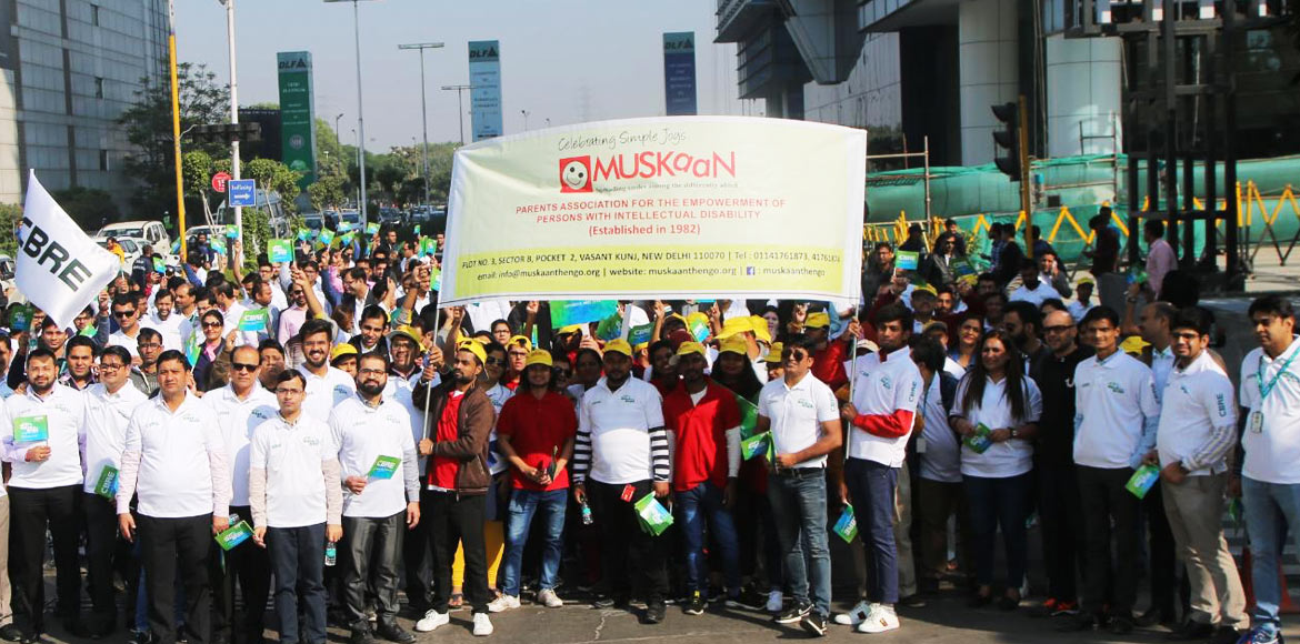 Walk for a Wish marks Day of the Disabled in Gurugram