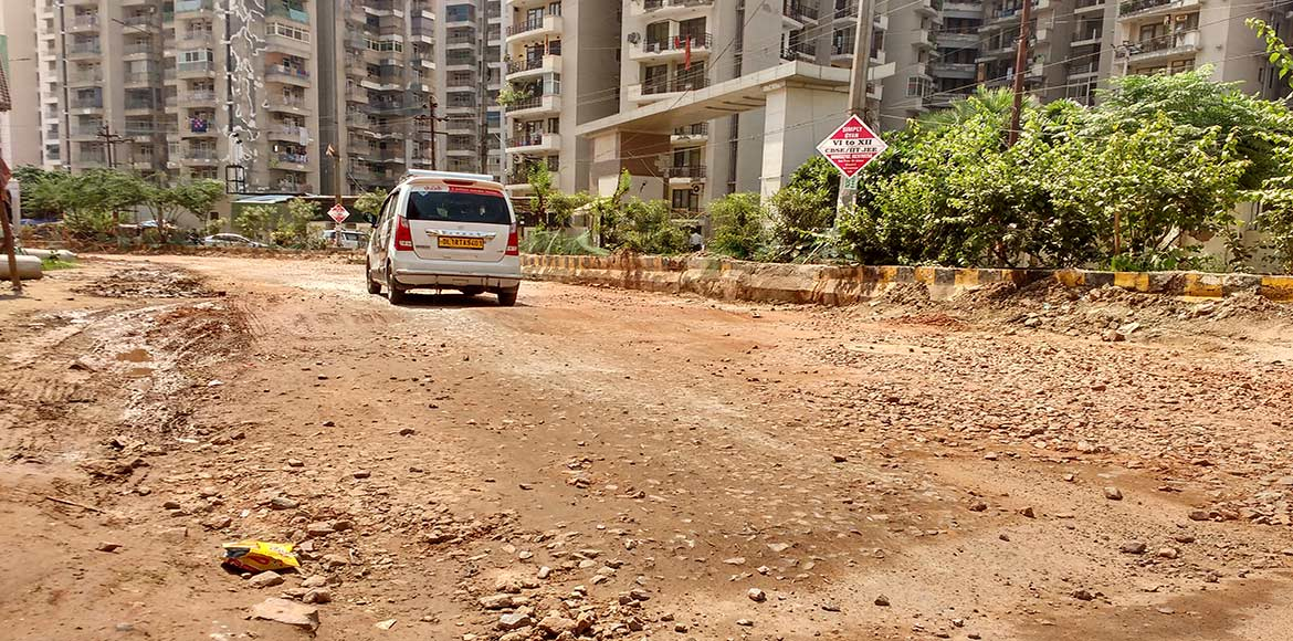 GDA to soon repair road near DPS Indirapuram