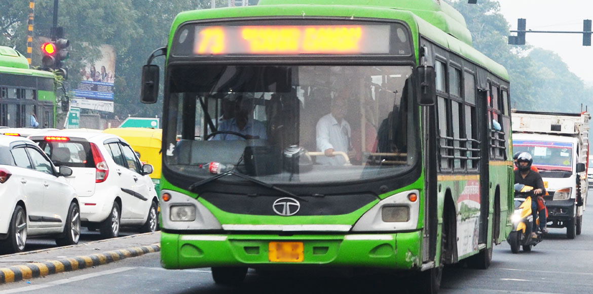 Demand for DTC bus service in Ghaziabad to ease em