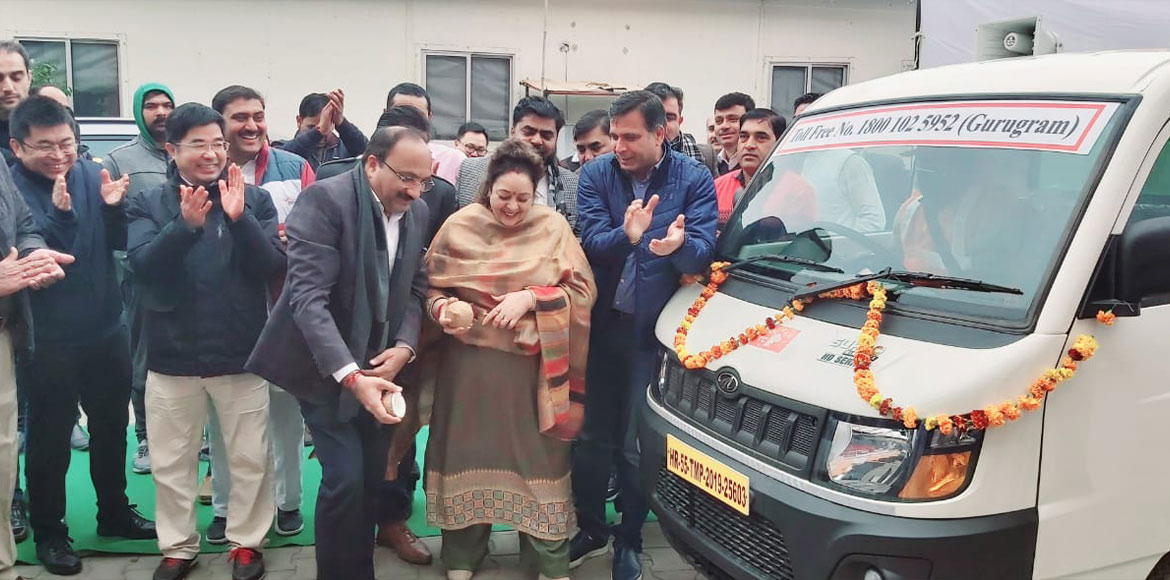 25 new vehicles added to fleet of waste collection in Gurugram