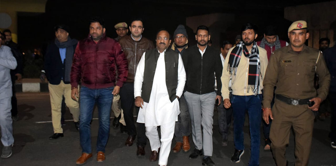 Gurugram MLA directs MCG officials to provide better facilities at night shelter