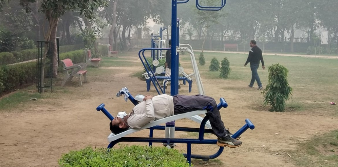 Equipment started hurting, but no agency for upkeep of open gyms of Dwarka