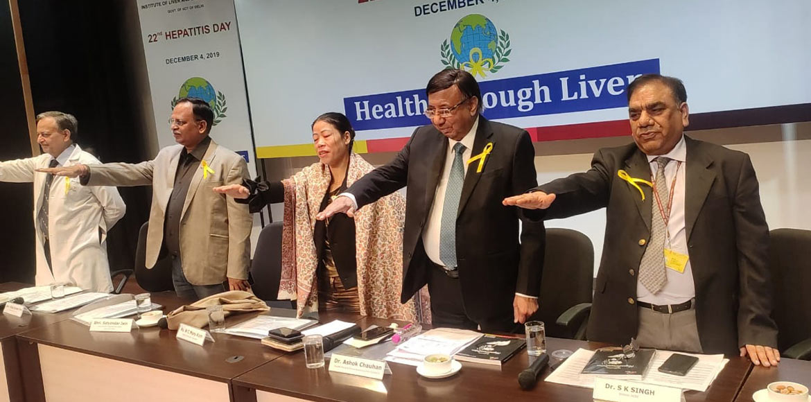 Delhi hospital marks Hepatitis Day with pledge for healthy liver