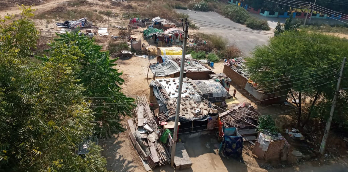 HSVP to conduct survey at Sec 43 after residents complained about illegal slum