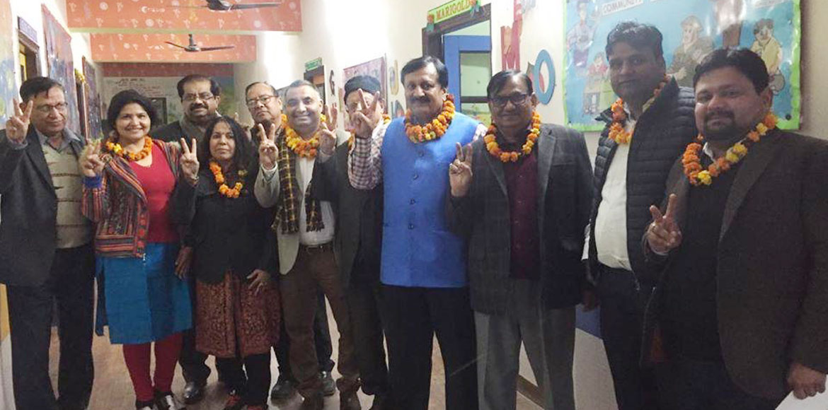 Unopposed, Janshakti Sewa Samiti retains old body