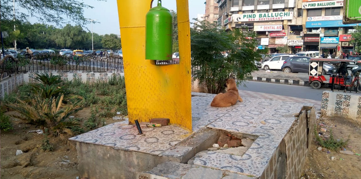 No takers for beautified places as it turn into filthy spots in Dwarka